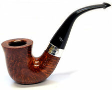 Peterson Sherlock Holmes Original Smooth Finish Silver Mounted Pipe