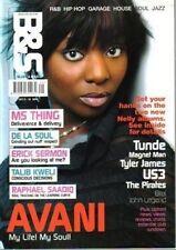 Avani on Blues & Soul Magazine Cover 2004  De La Soul Raphael Saadiq Talib Kweli