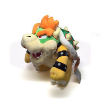"Sanei Super Mario All Star Collection Stuffed Plush Doll Toy- 10"" Bowser AC10"