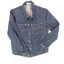Mens Levis Engineered Jeans Denim Jacket 70100 Blue Size L Chest 44