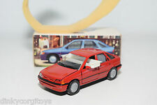 SCHABAK 1090 / 1091 FORD ESCORT GHIA RED NEAR MINT BOXED