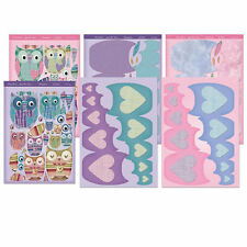 Hunkydory TWIT-TWOO BABUSHKA CARDS -  Premium Card Making Die-Cut Kit PCK006