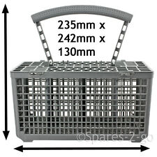 UNIVERSAL Dishwasher Cutlery Basket Plastic Cage Tray Lid & Removable Handle