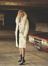Louis Vuitton Runway/Editorial Cream Fur Coat Fall/Winter 2015 Size 38FR