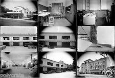 Compagnie Navigation Mixte Bureaux Locaux - 9 anciens négatifs photo verre 1930