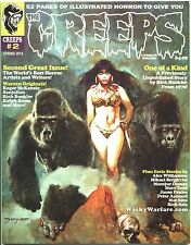 Creeps Magazine 2 Spring 2015 Warrant Creepy Eerie Horror Comic Warren NEW *READ