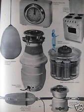 PUBLICITÉ 1956 PLAFONNIER DIFFUSEUR ROTAFLEX - MOULIN CAFÉ PEUGEOT - ADVERTISING