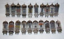 Lot of (20) 6C4 triode radio tubes,audio,amplifier,RCA,GE,IEC,Sylvania,Heathkit