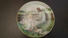 "W.S. George ""The Lord's My Shepherd"", by Cicely Mary Barker, (1988) Plate"