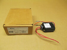 1 NIB HUBBELL MPSA MP-SA POWER SWITCH PACK SLAVE RELAY BLACK 24 VDC