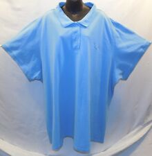 Super Nice Sky Blue JUNONIA  Size 6X Polo Shirt Cotton with  Short Sleeves