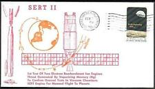 "US Space Cover 1970. Satellite ""SERT 2"" Launch. Ion Engines Test"