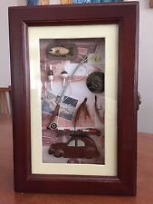 Shadow Key Box Decorative Decor For Fishing Enthusiast (Stk)