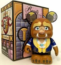 "DISNEY VINYLMATION 3"" BEAUTY AND THE BEAST SERIES 2 ""THE BEAST"" COLLECTIBLE TOY"