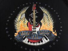 Walt Disney World ROCK THE WORLD ROCK N' ROLLER.COSTER Guitar Sleeveless TANK XL