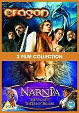 Chronicles Of Narnia The Voyage Of The Dawn Treader / Eragon DVD Kids *NEW*