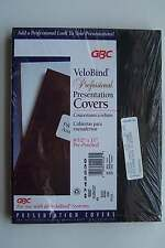 GBC VeloBind Professional Presentation Covers