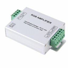 LED 24A Amplifier Controller Repeater DC 12-24V for RGB LED Strip 5050 2835 5630