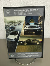 2004 2005 2006 2007 2008 Mercedes Navigation DVD Map for Comand Version 7.0