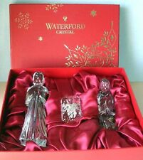 NEW Waterford Nativity Holy Family 3 Piece Figurine Set Jesus Mary Joseph 164970