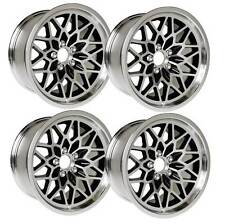 NEW 17x9 BLACK Snowflake Wheels 1st 2nd Gen Firebird Trans Am