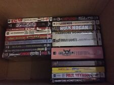 Huge WWE/WWF/ECW/WCCW DVD lot- 42 DVDs/DVD box sets!