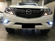 Mazda BT-50 current model Foglights 80w H8 Super bright white LED projector bulb