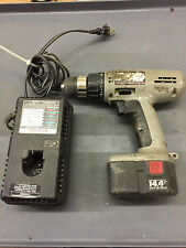 Porter-Cable 14.4V DC Cordless Drill Battery and Charger