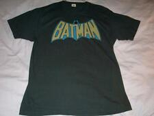 Batman Vintage Logo 2007 DC Comics Gray T-Shirt Mens Large used
