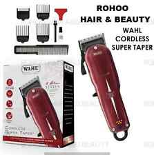 Wahl Super Taper Profesional Red Inalámbrico Clipper Modelo: 8591-831