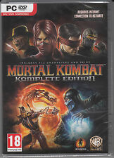 Mortal Kombat Komplete Edition PC Brand New Sealed Fast Shipping