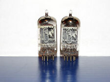 2 x 12ax7 Amperex Bugle Boy Tubes *Foil D Getter*Strong & Balanced Matched*1957*
