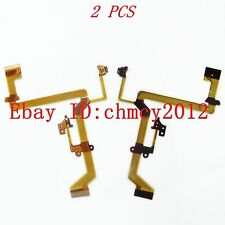 2pcs LCD Flex cable For Panasonic SDR-H40 SDR-H48 Video Camera Repair Part