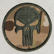 PUNISHER SKULL SEAL NAVY GUNS PAINTBALL SNIPER  PATCH MULTI CAMO -32413