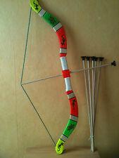 Arc en bois + fleches  taille 75 cm (jeux jouet enfant) (artisan createur)