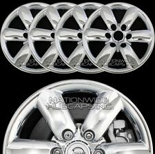 "fits 08-14 Nissan TITAN CHROME 18"" Wheel Skins Hub Caps Rim Covers Simulators"