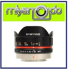 Samyang 7.5mm F/3.5 UMC Fisheye Lens For Micro Four Thirds System Camera