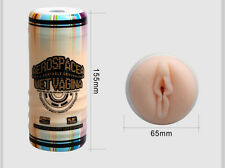 Male Masturbator Can Shaped Massager - AerospaceA Wet Vagina - Fake Pussy