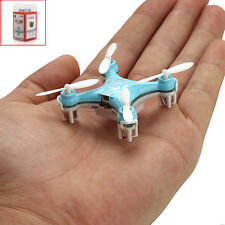 Cheerson CX-10 2.4Ghz 4CH 6-Axis GYRO Mini Nano RC Quadcopter UFO Drone Blue