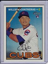 Willson Contreras 2016 Topps Heritage High Number Rookie Card Base RC #505