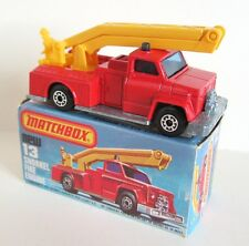 Matchbox Superfast 13c Snorkel Fire Engine - Red - Mint/Boxed