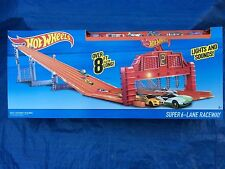 Super 6-Lane Raceway Track Set Race Set by Hot Wheels - New Sealed (Rare)