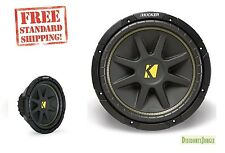 Kicker 10C104 Comp 10-Inch Subwoofer 4 Ohm 300 watts (Black) C104 43c104 cvr