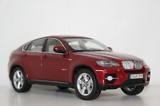 Kyosho BMW BMW X6 5.0i E71 Vermilion Red 80430428192 1:18 Dealer Edition