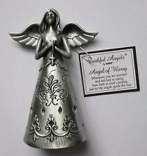 g Angel of Worry FAITHFUL FIGURINE Ganz have faith God healing lead way