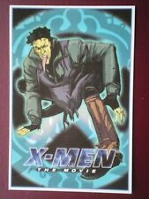 POSTCARD B12 ADVERT X-MEN - TOAD (1)