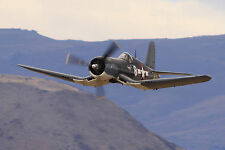 Giant 1/6 Scale American WW-II F4U Corsair Plans,Templates