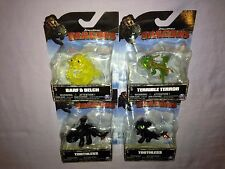 4x Dreamworks How to Train Your Dragon Toothless Barf & Belch Terrible Terror