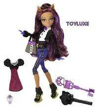 Monster High SWEET 1600 Clawdeen Wolf Birthday Party Ghoul Doll & Key WEREWOLF !