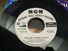 "David Rose-Theme From The Wings Of Eagles-7"" 45-Promo-MGM-Vinyl Record-VG+"